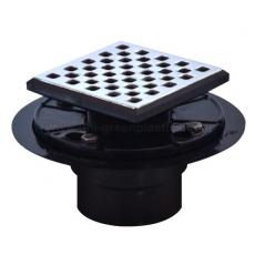Mission style drain grate with ABS shower drain base - UGSD008-Mission