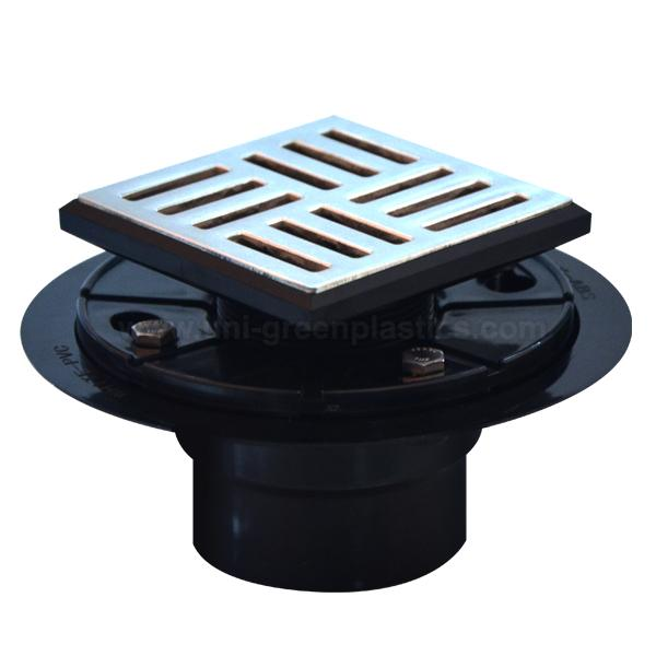 Neo style drain grate with ABS shower drain base » UGSD008-Neo