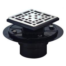 Bless style drain grate with ABS shower drain base - UGSD008-Bless