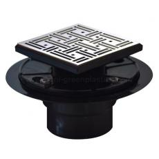 Joy style drain grate with ABS shower drain base - UGSD008-Joy
