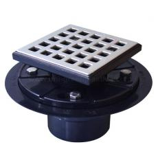 Fun style drain grate with ABS shower drain base - UGSD008-Fun
