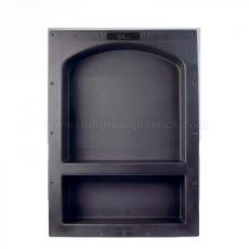ABS Plastic Arch Double Shower Niche - UGARN201