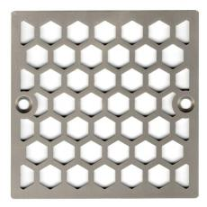 Xiamen Uni-Green Plastics Co., Ltd: 4 Inch Square Shower Stall Strainer for Floor Drainer Replacement - UGG2001