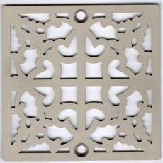 Xiamen Uni-Green Plastics Co., Ltd: 4-inch Screw-in Shower Floor Drain Grate Strainer - UGG2009