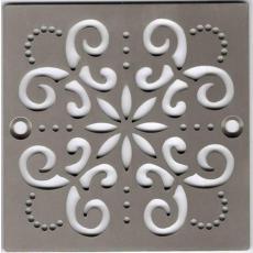 Xiamen Uni-Green Plastics Co., Ltd: 4 inch Screw-in Shower Floor Drain Grate - UGG2005