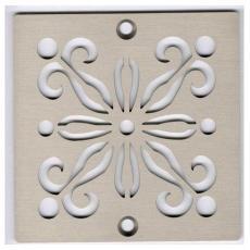 Xiamen Uni-Green Plastics Co., Ltd: 4-inch Screw-in Shower Floor Drain Grate - UGG2006